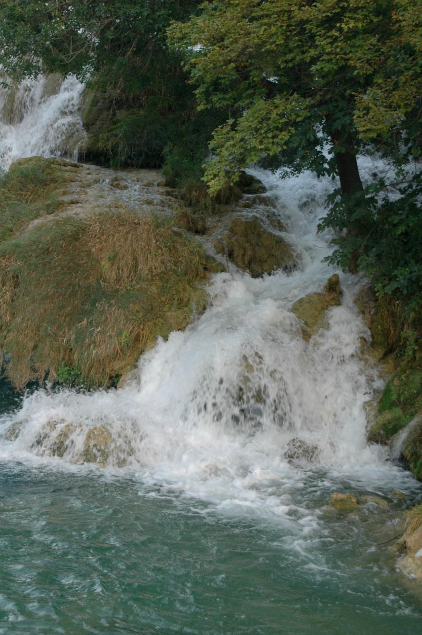 Water falls in Croatia, photo by Michael Dickel