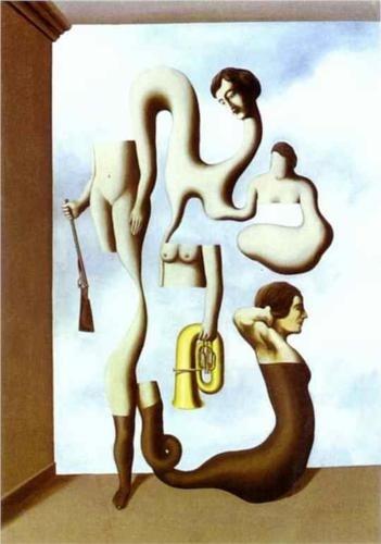The Acrobat's Exercises, René Magritte, 1928