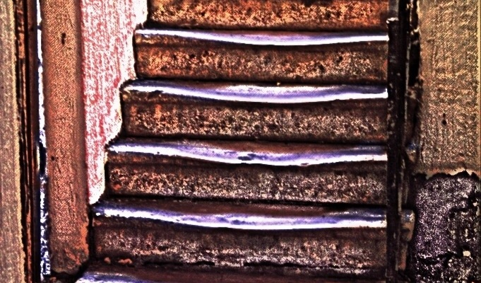 Stairs Digital landscape from photos ©2013 Michael Dickel