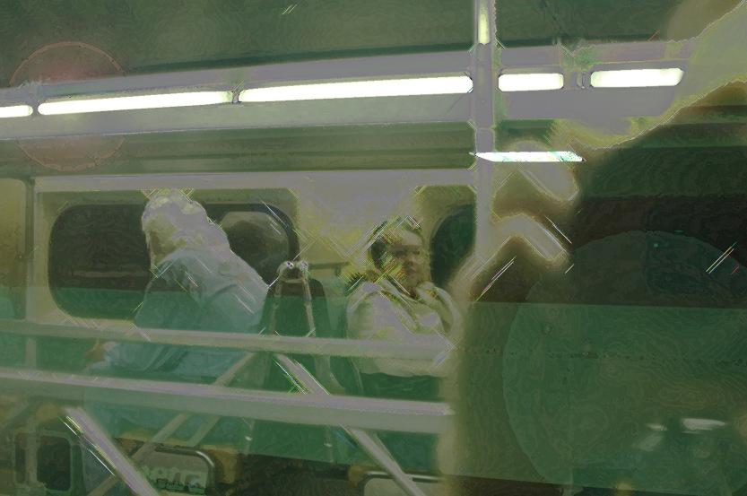 Train ride, as far as I go…