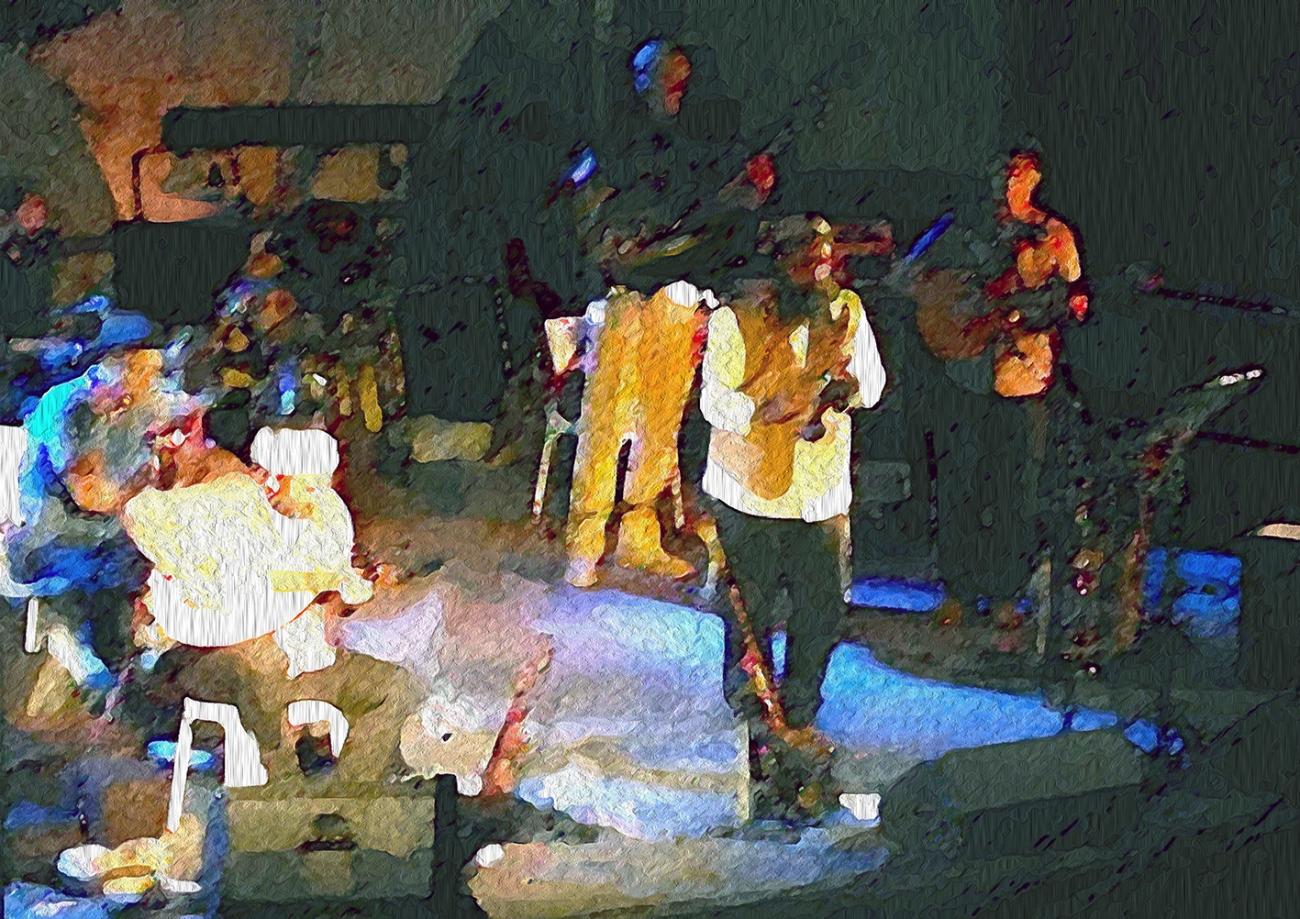 Musicians at Tzfat Klezmer Festival 2014