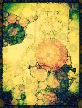 Digital art from Michael Dickel-selfie by Pansy Bradshaw ©2014 Bradley Shaw z''l