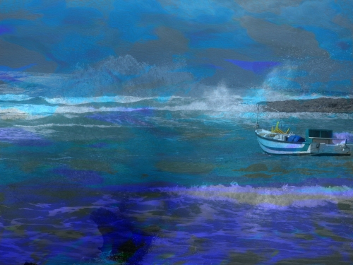During stormy weather and when it was clear…<br /> digital art ©2014<br /> Michael Dickel