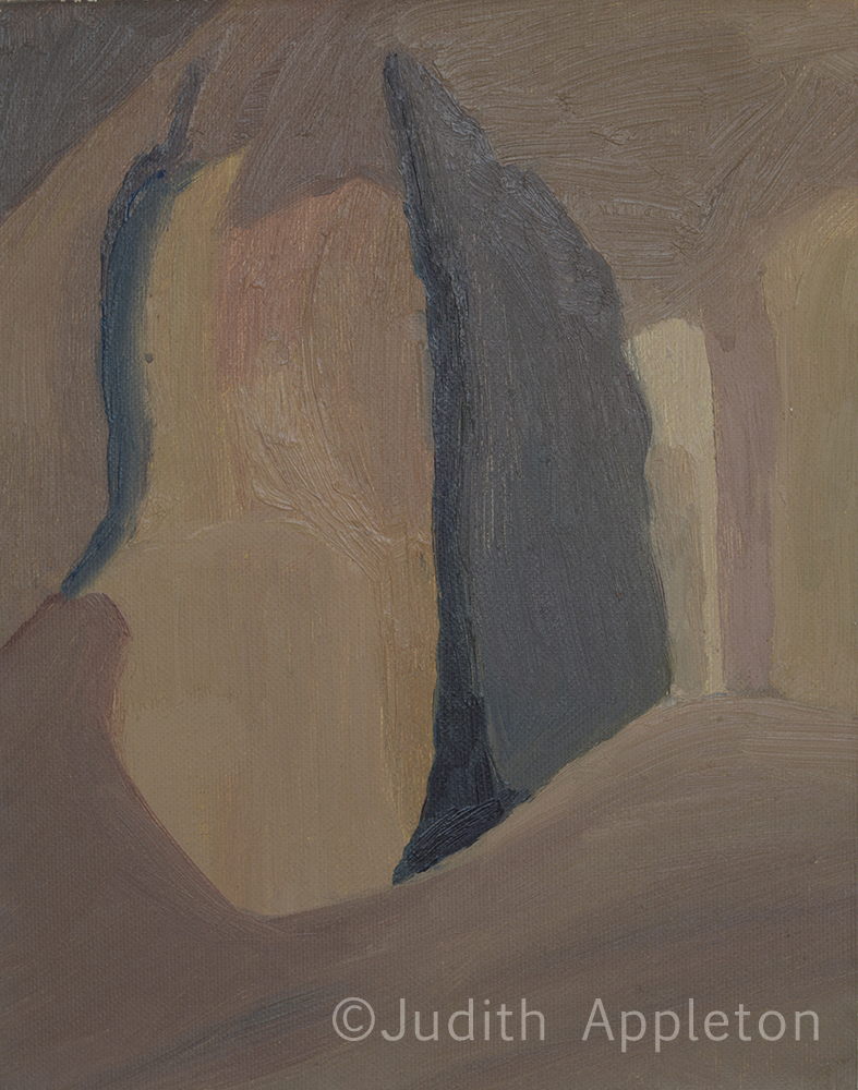 Dead Sea Cave by Judith Appleton ©2014 Judith Appleton