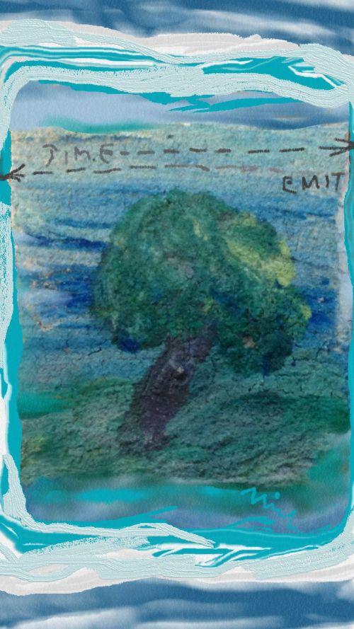 Time / Emit 1 (c) 2015 Michael Dickel