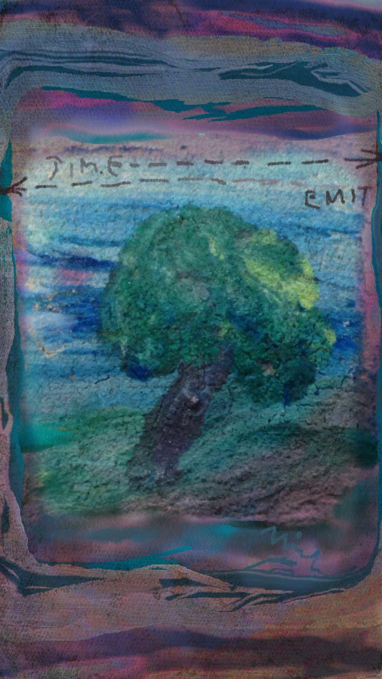 Time / Emit 4 (c) 2015 Michael Dickel