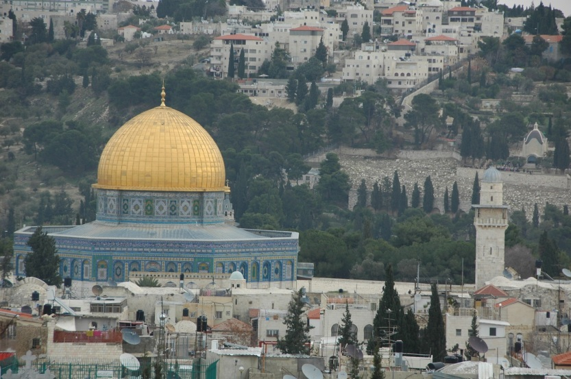 Dome of the Rock on the Temple Mount, a site we will see on the Writes and Rhapsodies Israel Poetry Writing Tour—travel, vacation, conference, writing conference, workshop and writing workshop, creativity, poem, poems.