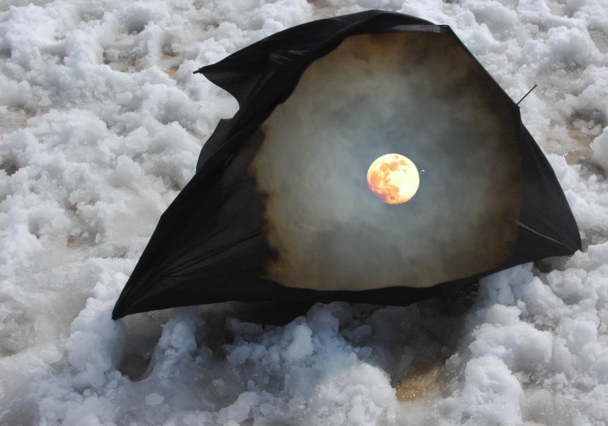 Apocalyptic Winter I Digital art from photos ©2016 Michael Dickel