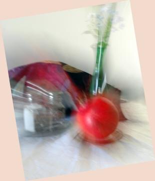 Pomegranate New Year Digital photography ©2017 Michael Dickel