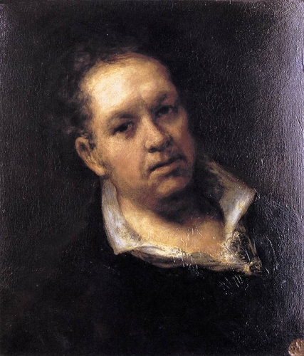 Self-portrait of Francisco de Goya y Lucientes (1746-1828)