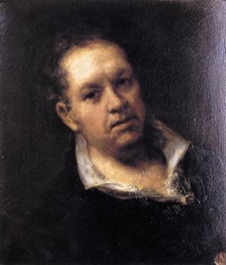 Self-portrait of Francisco de Goya y Lucientes (1746-1828)