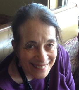 Image of Linda Chown looking up at the camera.